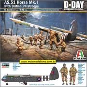 AS.51 Horsa Mk. I with British Paratroops - Italeri - 1/72
