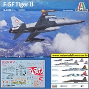 F- 5F Tiger II Twin Seater - Italeri - 1/72
