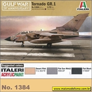 Tornado GR.1 - Gulf War 25th - Italeri - 1/72