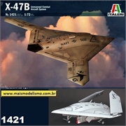 X-47B Unmanned Combat Aircraft System - Italeri - 1/72