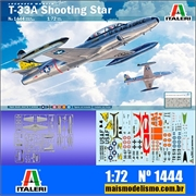 T-33A Shooting Star - Italeri - 1/72
