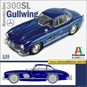 Mercedes-Benz 300SL Gullwing - Italeri - 1/24