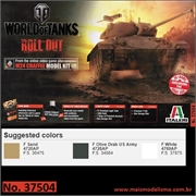 World of Tanks - M24 CHAFFEE - Italeri - 1/35