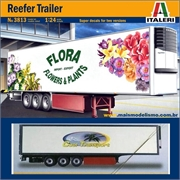 Carreta Reefer Trailer - Italeri - 1/24