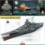 German Battleship TIRPITZ - Italeri - 1/700