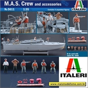 M.A.S. Crew and accessories - Italeri - 1/35