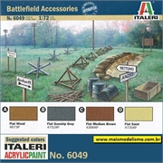 Battlefield Accessories WWII - Italeri - 1/72
