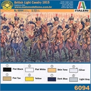 Napoleonic Wars - BRITISH LIGHT CAVALRY 1815 - Italeri - 1/72