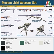 MODERN Light Weapons SET - Italeri - 1/35