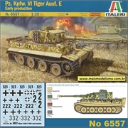 Pz. Kpfw. VI Tiger Ausf E Early Production - Italeri - 1/35
