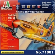 Spitfire Mk. Vb - Model-Set Italeri - 1/72