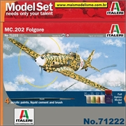 Macchi MC.202 Folgore - Model-Set Italeri - 1/72