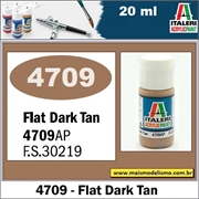 Tinta ITALERI 4709AP Acrylic DARK TAN Fosco FS30219 - 20ml