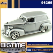 1939 - CHEVY SEDAN DELIVERY PRATA - JADA - 1/24