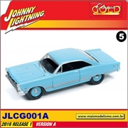 1967 - Ford Fairlane 500 XL Azul - Johnny Lightning - 1/64