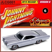 1965 - Pontiac Catalina 2+2 Violeta Claro - Johnny Lightning - 1/64