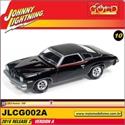 1973 - Pontiac GTO Preto - Johnny Lightning - 1/64