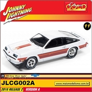 1980 - Chevy Monza Spyder Branco - Johnny Lightning - 1/64