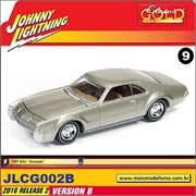 1967 - Olds Toronado Dourado - Johnny Lightning - 1/64