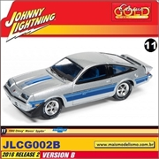 1980 - Chevy Monza Spyder Prata - Johnny Lightning - 1/64