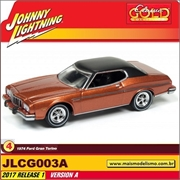 1974 - Ford Gran Torino Cobre - Johnny Lightning - 1/64