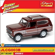 1979 - International Scout III Vinho - Johnny Lightning - 1/64