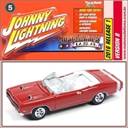 1969 - Dodge Coronet R/T Vinho - Johnny Lightning - 1/64
