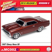 1967 - Chevy Nova SS Cobre - Johnny Lightning - 1/64