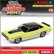 1971 - Plymouth GTX Amarelo - Johnny Lightning - 1/64
