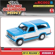 1980 - Ford Bronco Azul - Johnny Lightning - 1/64