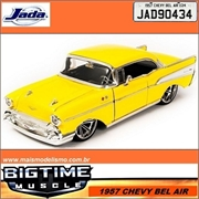 1957 - Chevy BEL AIR Amarelo - Jada - 1/24