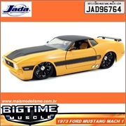 1973 - FORD MUSTANG MACH I Amarelo - Jada - 1/24