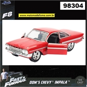 Fast and Furious F8 - 1961 Doms Chevy Impala - Jada 1/32