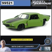 Fast and Furious - 1973 Chevy Camaro Verde - Jada 1/32