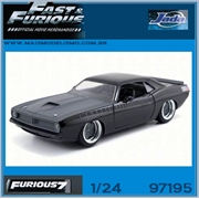 Furious 7 - 1970 Lettys Plymouth BARRACUDA - Jada - 1/24