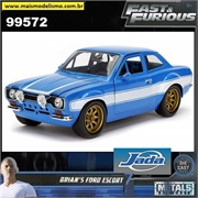 Fast and Furious - Brians Ford Escort RS 2000 - Jada - 1/24
