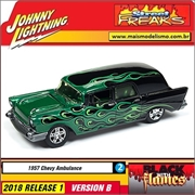 1957 - Chevy Ambulance - Johnny Lightning Street Freaks - 1/64