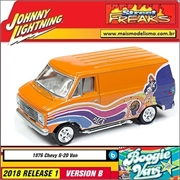 1976 - Chevy G20 Van - Johnny Lightning Street Freaks - 1/64