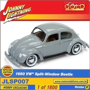 1950 - VW Split-Window Beetle - Johnny Lightning - 1/64