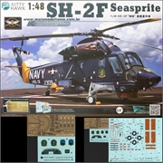 Helicóptero SH-2F SEASPRITE - Kitty Hawk - 1/48