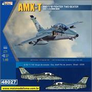 AMX-T / A-1B Fighter Two-Seater - Kinetic - 1/48