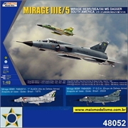 Mirage III EBR South America - Kinetic Model Kits - 1/48