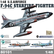 F- 94C STARFIRE Fighter - Kitty Hawk - 1/48