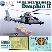 Helicóptero SA.365F/AS.565SA DAUPHIN II - Kitty Hawk - 1/48