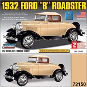 1932 - Ford B Roadster - Lindberg - 1/32