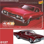 1967 - OLDSMOBILE 442 Cutless Supreme - Lindberg - 1/25