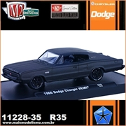 1966 - Dodge CHARGER HEMI R35 Black - M2 Auto-Drivers - 1/64