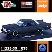 1957 - Chrysler 300C R35 Black - M2 Auto-Drivers - 1/64