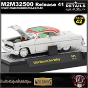 1954 - Mercury Sun Valley R41 Branco - M2 Auto-Thentics - 1/64