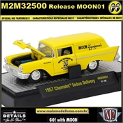 1957 - Chevrolet Sedan Delivery MOON01 - M2 Machines - 1/64